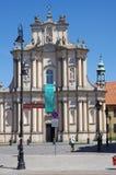Fachada da igreja barroco Imagens de Stock Royalty Free