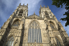Fachada da igreja da catedral da igreja de York Fotografia de Stock Royalty Free