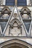 Fachada da igreja da catedral da igreja de York Imagem de Stock Royalty Free