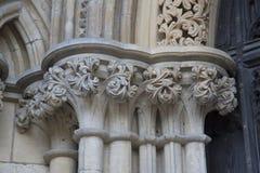 Fachada da igreja da catedral da igreja de York Foto de Stock Royalty Free