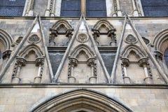 Fachada da igreja da catedral da igreja de York Imagem de Stock