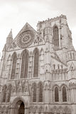 Fachada da igreja da catedral da igreja de York, Inglaterra Fotografia de Stock