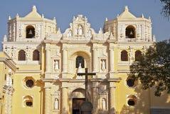 Fachada da igreja de Merced do La Fotos de Stock