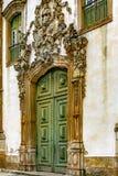 Fachada da igreja de São Francisco de Paula em Ouro Preto, Imagens de Stock Royalty Free