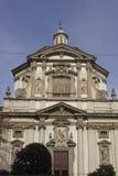 Fachada da igreja de San Giuseppe em Milão Foto de Stock