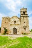 Fachada da igreja de San Jose da missão em San Antonio Texas imagem de stock royalty free