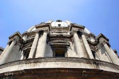 Fachada da igreja de San Moise em Veneza imagem de stock