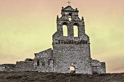 Fachada da igreja de San Salvador Foto de Stock
