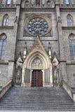 Fachada da igreja de St. Ludmila Foto de Stock Royalty Free