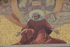 Fachada da igreja de todas as nações. Jerusalém. Israel fotos de stock
