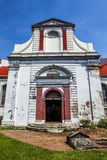 Fachada da igreja de Wolvendaal - uma igreja reformada Dutch do VOC em Colombo, Sri Lanka Imagem de Stock