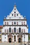 Fachada da igreja do ` s de St Michael em Munich, Alemanha Imagem de Stock