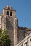 Fachada da igreja em Évora Imagens de Stock Royalty Free
