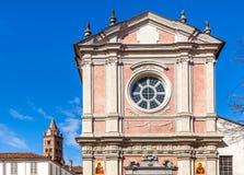 Fachada da igreja ortodoxa em alba, Itália Imagens de Stock