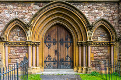 Fachada da igreja velha Imagens de Stock