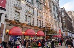 Fachada da loja de Macys em New York City Imagem de Stock