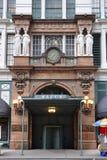 Fachada da rua de Macy 34a, Manhattan, NYC Fotos de Stock