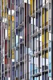 Fachada de aço de vidro Imagem de Stock Royalty Free