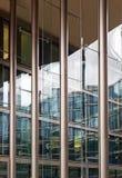 Fachada de alumínio do edifício Foto de Stock Royalty Free