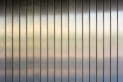 Fachada de aluminio Fotos de archivo