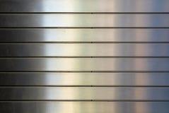 Fachada de aluminio Fotos de archivo libres de regalías