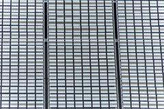 Fachada de aluminio de la pared del fondo de la textura del tablero de la hoja de metal Imagenes de archivo