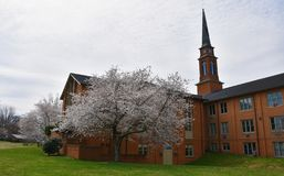 Fachada de Baptist Church fotografia de stock