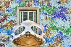 Fachada de Batllo da casa Foto de Stock