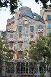 Fachada de Battlo de la casa Imagen de archivo libre de regalías