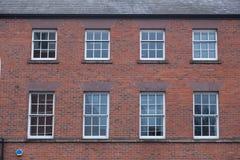Fachada de Brickwall en Inglaterra imagen de archivo