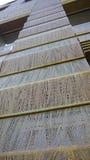 Fachada de cobre Fotos de archivo libres de regalías