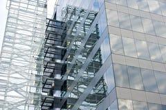 Fachada de cristal. Imagen de archivo libre de regalías