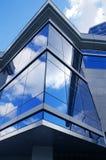 Fachada de cristal Foto de archivo libre de regalías