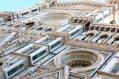 Fachada de di Santa Maria da basílica, Florença Fotografia de Stock Royalty Free