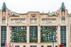 Fachada de Eden Theater en Lisboa Imagenes de archivo