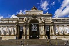 Fachada de Esposizioni do delle de Roma, Itália Palazzo Foto de Stock Royalty Free