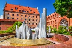 Fachada de filarmônico Báltico em Gdansk imagem de stock royalty free