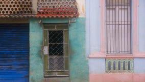 Fachada 1 de Havana, Cuba Imagem de Stock