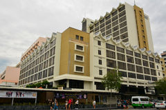 Fachada de Hyatt Regency Kinabalu em Kota Kinabalu, Malásia Fotografia de Stock Royalty Free