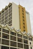 Fachada de Hyatt Regency Kinabalu em Kota Kinabalu, Malásia Fotos de Stock