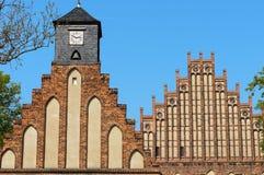 Fachada de Kloster Zinna Fotos de archivo libres de regalías
