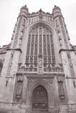 Fachada de la abadía, baño Foto de archivo libre de regalías