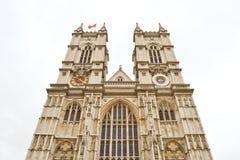 Fachada de la abadía de Westminster Imagen de archivo libre de regalías