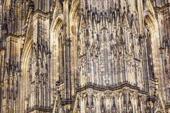 Fachada de la bóveda hermosa en cologne Fotografía de archivo libre de regalías
