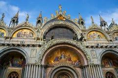 Fachada de la bóveda de la iglesia de San Marco Fotografía de archivo