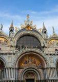 Fachada de la bóveda de la iglesia de San Marco Imagen de archivo libre de regalías