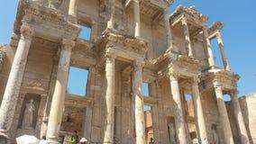 Fachada de la biblioteca de Ephesus Fotografía de archivo