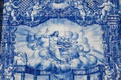 Fachada de la Capela das Almas Imágenes de archivo libres de regalías