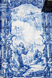 Fachada de la Capela das Almas Imagen de archivo libre de regalías