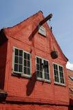 Fachada de la casa Imagen de archivo libre de regalías